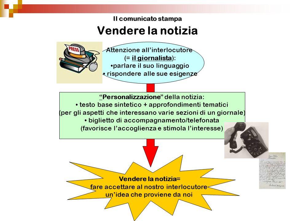 Il comunicato stampa La tempestività SCOOP!!.