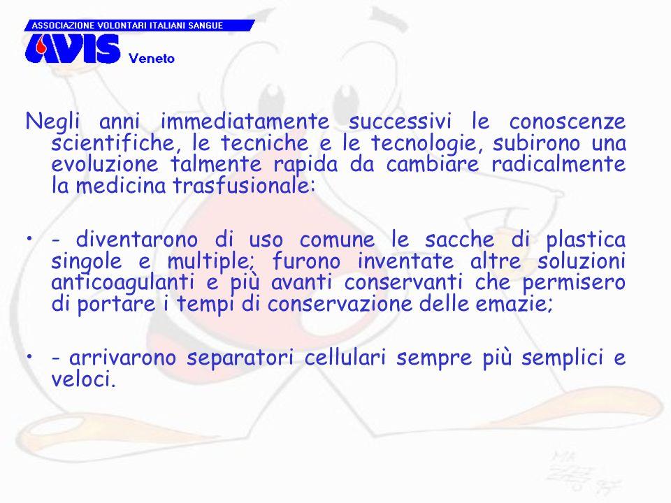 Nella stessa legge in un passo successivo, vi è la possibilità di questi enti di volontariato di istituire un fondo regionale con la collaborazione della Regione Veneto per le finalità di promozione del sangue e più in generale per una crescita della cultura della solidarietà.