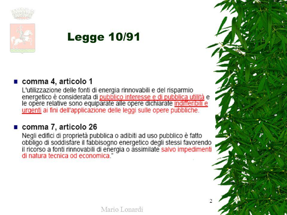 2 Legge 10/91 Mario Lonardi