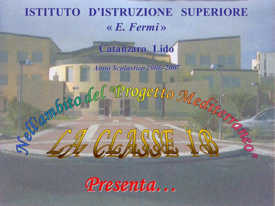 ISTITUTO DISTRUZIONE SUPERIORE « E. Fermi » Catanzaro Lido Anno Scolastico 2006-2007 Presenta…