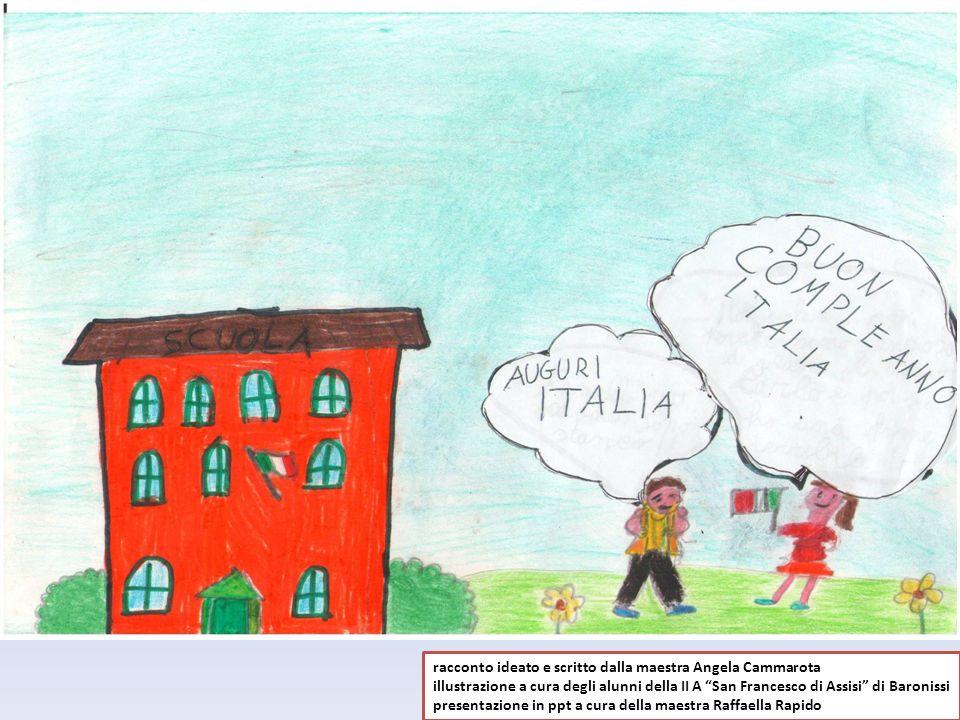 racconto ideato e scritto dalla maestra Angela Cammarota illustrazione a cura degli alunni della II A San Francesco di Assisi di Baronissi presentazio