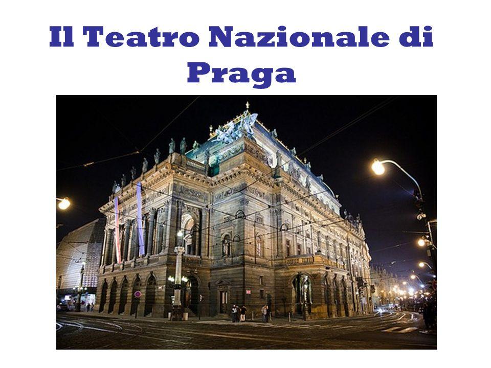 Il Teatro Nazionale di Praga