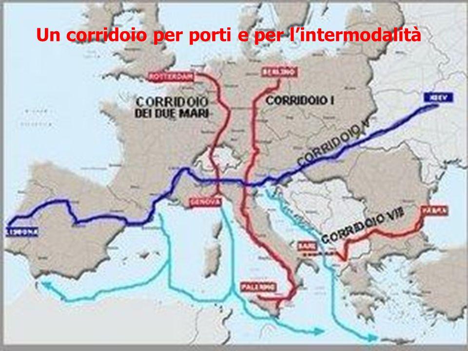 Un corridoio per porti e per lintermodalità