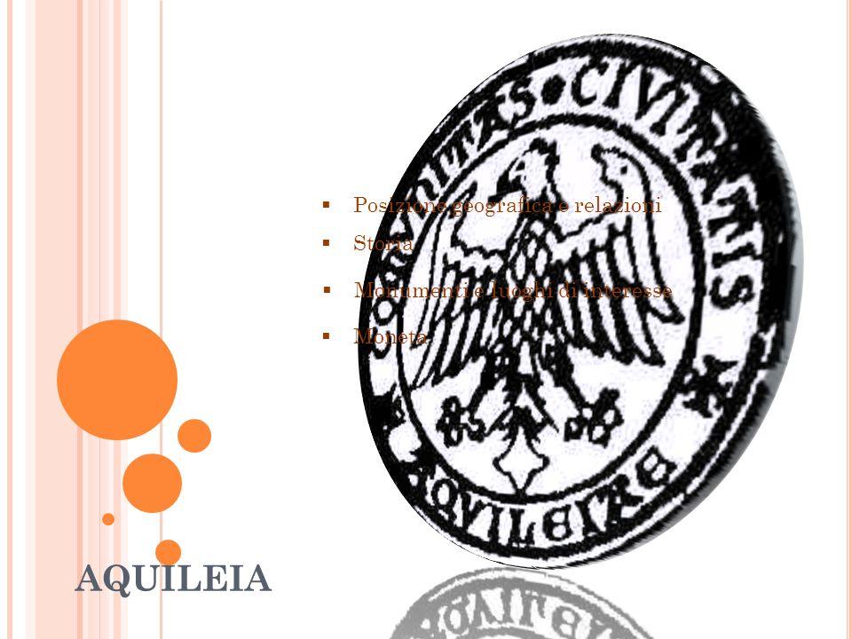 L ASSEDIO DI MASSIMINO IL TRACE Gli apprestamenti difensivi le permisero di superare gli assedi dei Quadi e dei Marcomanni (170), e dell imperatore Massimino il Trace,che, scese in Italia dalla Pannonia con l esercito (nel 238) ma la città di Aquileia dove contava di fare approvvigionamenti gli chiuse le porte, costringendolo all assedio.