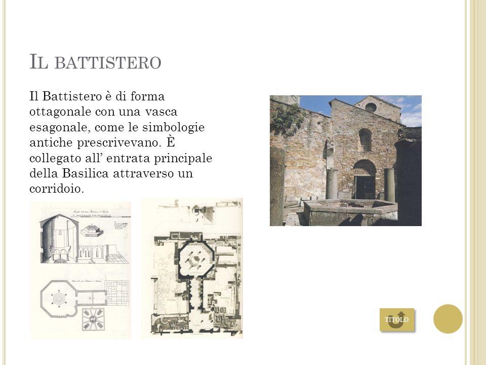 B ASILICA la Basilica di Aquileia mantiene le forme del XI secolo. La prima parte venne edificata nell'anno 313, successivamente all' editto di Costan