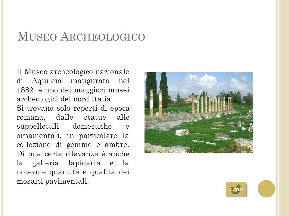 CRIPTE LA CRIPTA DEGLI SCAVI Nella cripta sono individuabili i resti archeologici di alcuni edifici che si sono sovrapposti nel corso di varie epoche: