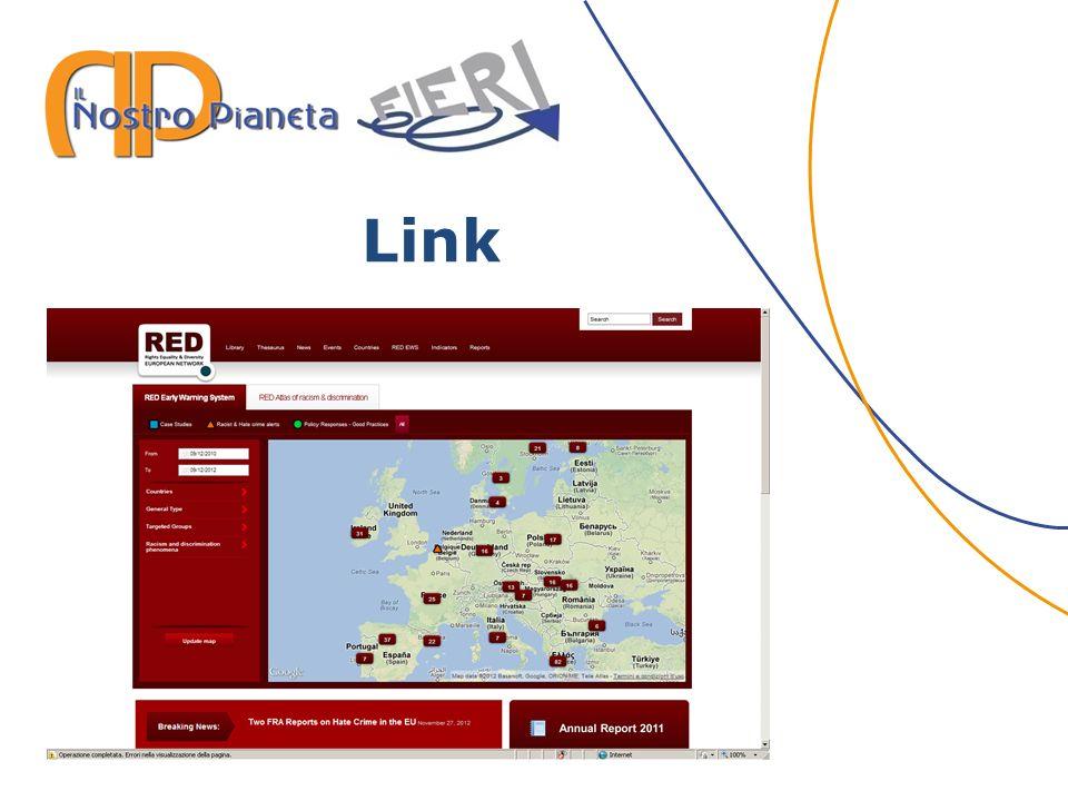 Link www.red-network.eu www.cronachediordinariorazzismo.org