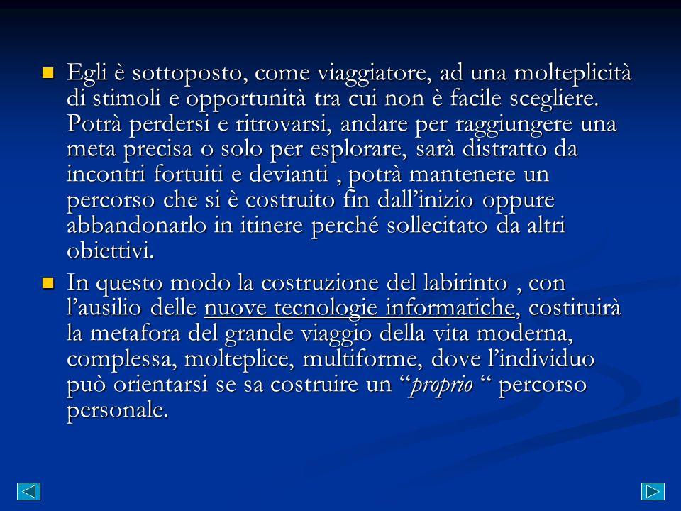 Il testo di Italo Calvino si presta molto bene a questa modalità di lettura, in quanto il tema che lautore propone, è proprio quello del viaggio.