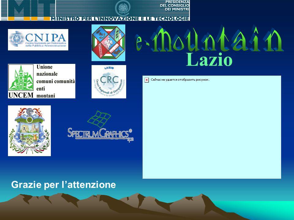 Lazio Grazie per lattenzione