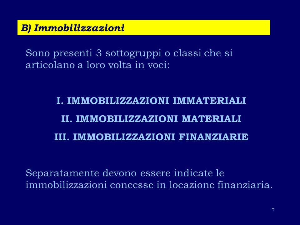 28 B)Costi della produzione I costi qui compresi sono costi di produzione economica e non di fabbricazione.