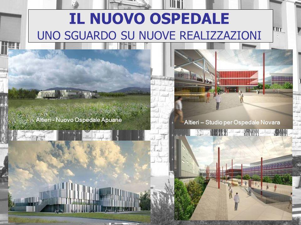 Altieri - Nuovo Ospedale Apuane Altieri – Studio per Ospedale Novara IL NUOVO OSPEDALE UNO SGUARDO SU NUOVE REALIZZAZIONI