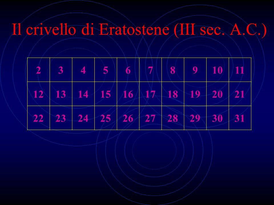 I numeri primi Sono i numeri divisibili esattamente per due numeri Sono infiniti? Non è ancora stata formulata una legge che descriva tutti i numeri p