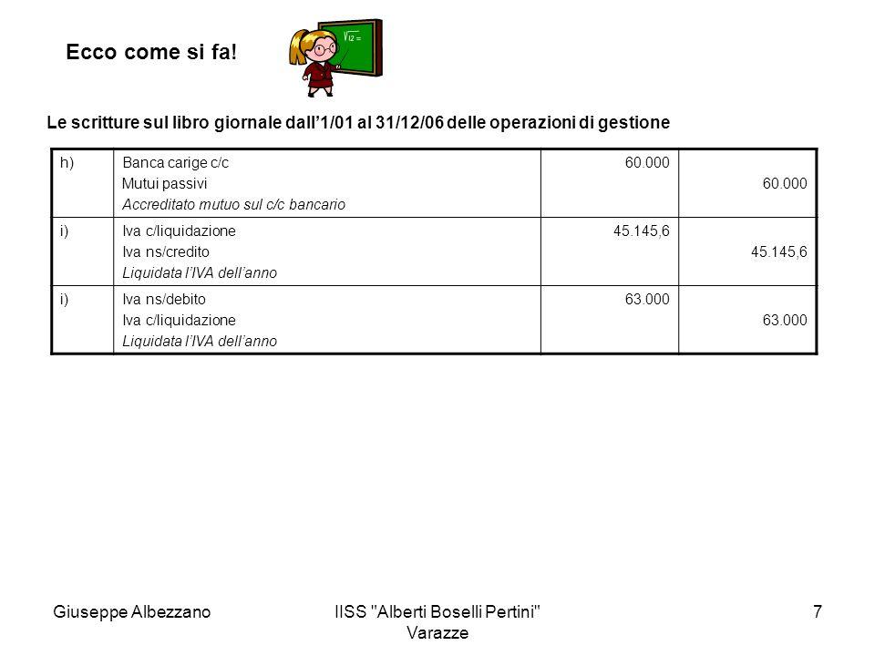 IISS Alberti Boselli Pertini Varazze 8 Ecco come si fa.