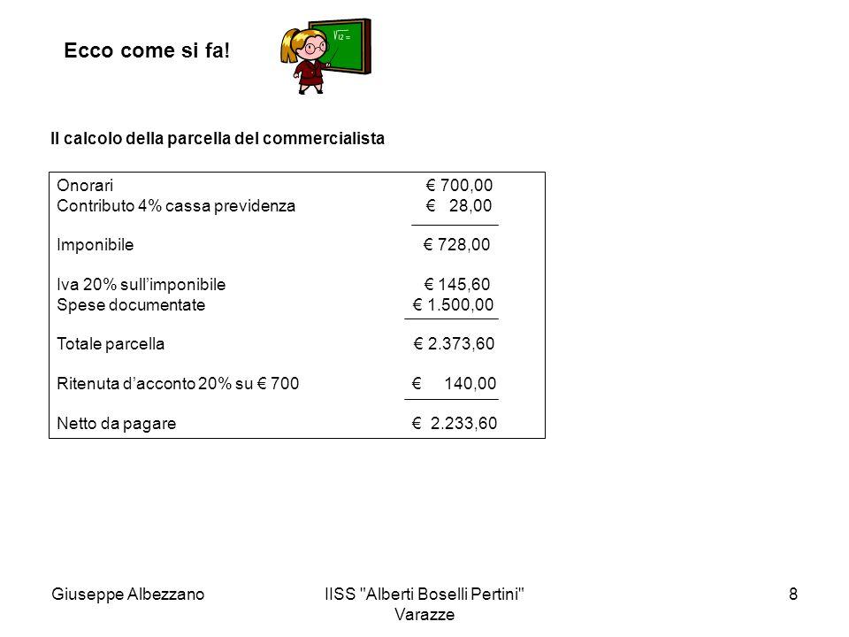 IISS Alberti Boselli Pertini Varazze 9 Ecco come si fa.