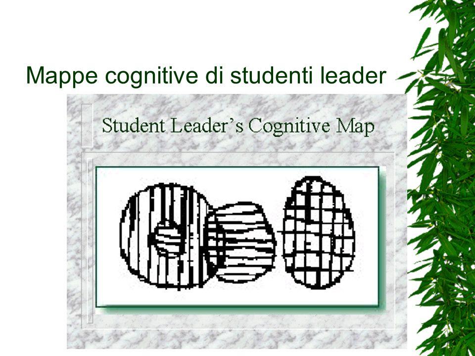 Mappe cognitive di studenti leader