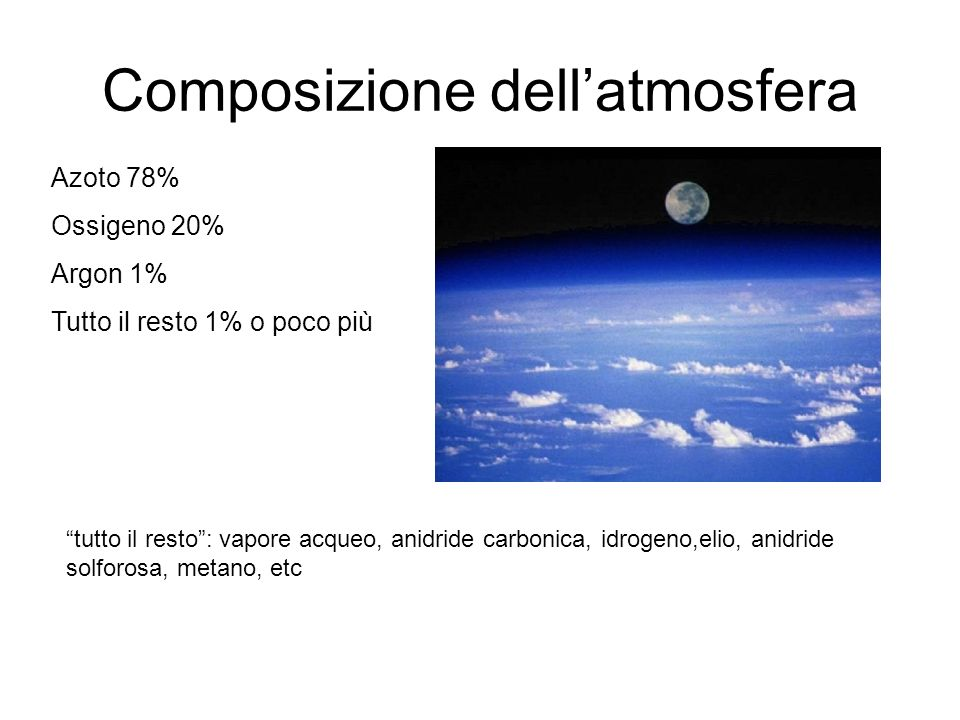 Fenomeni fisici nellatmosfera