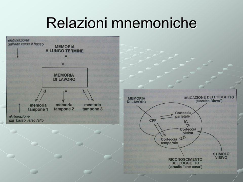 Relazioni mnemoniche