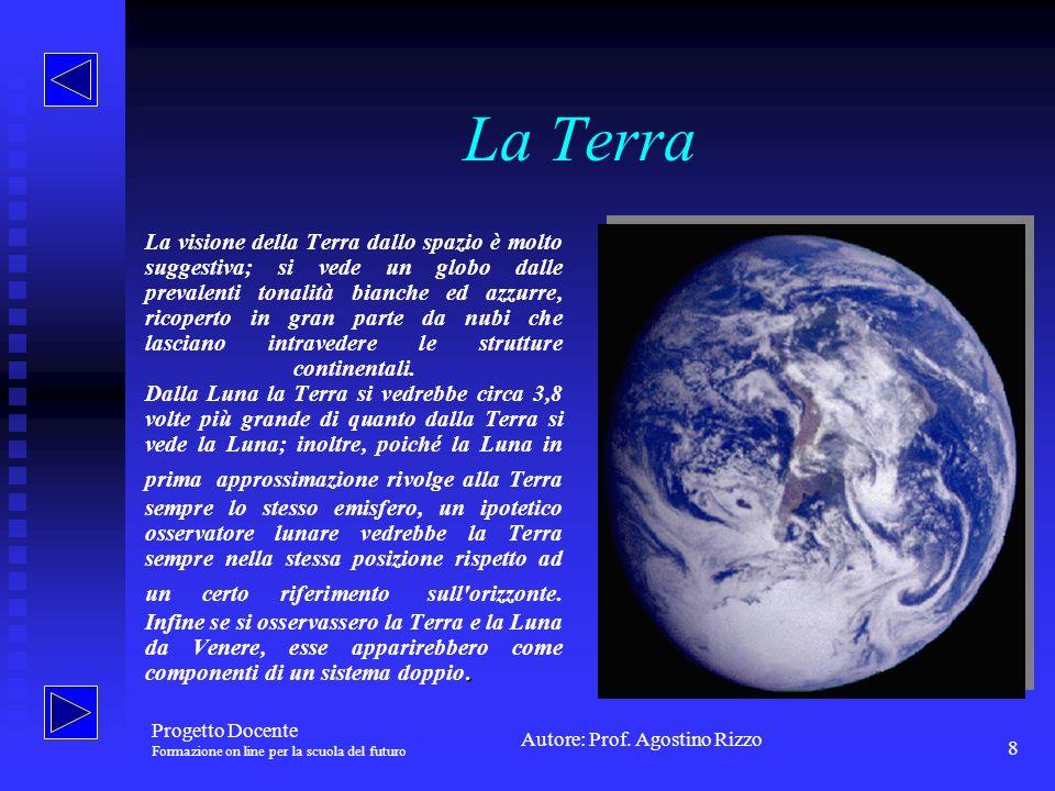 Autore: Prof. Agostino Rizzo Progetto Docente Formazione on line per la scuola del futuro 9 Marte