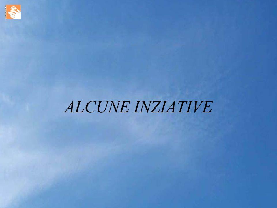 ALCUNE INZIATIVE
