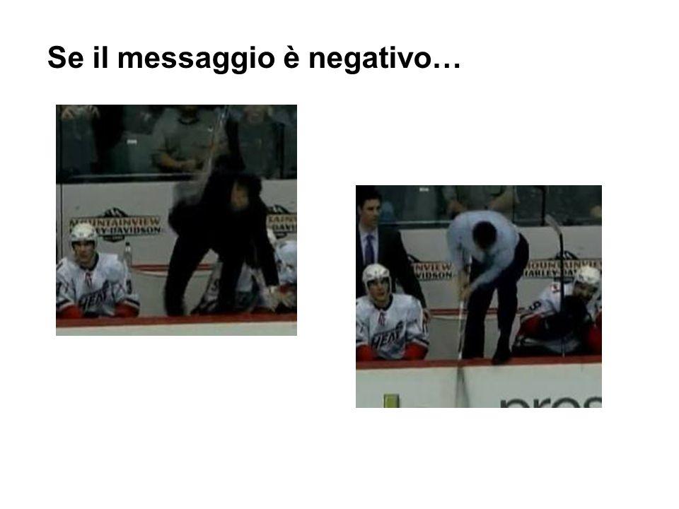 Se il messaggio è negativo…