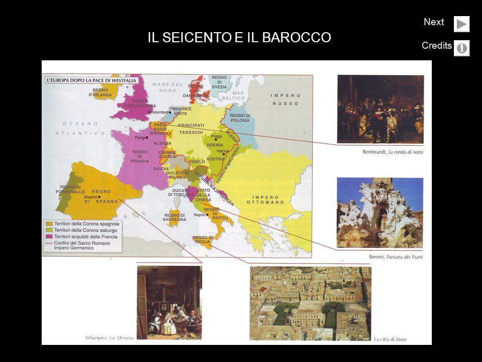 IL SEICENTO E IL BAROCCO Next Credits