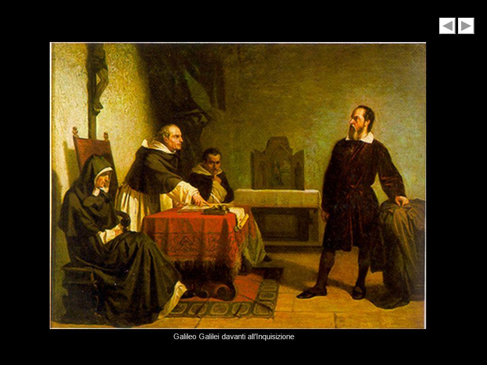 Galileo Galilei davanti allInquisizione