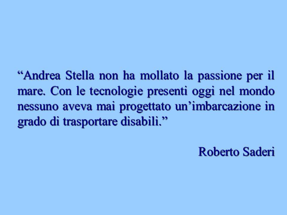 Andrea Stella non ha mollato la passione per il mare.