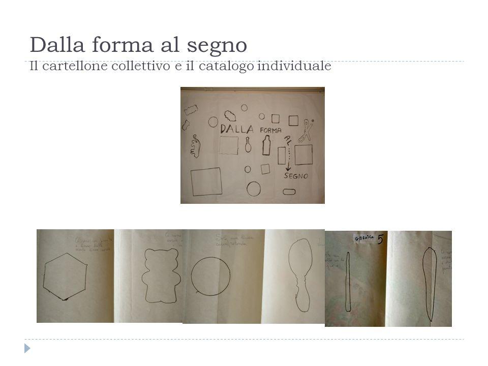 Dalla forma al segno Il cartellone collettivo e il catalogo individuale
