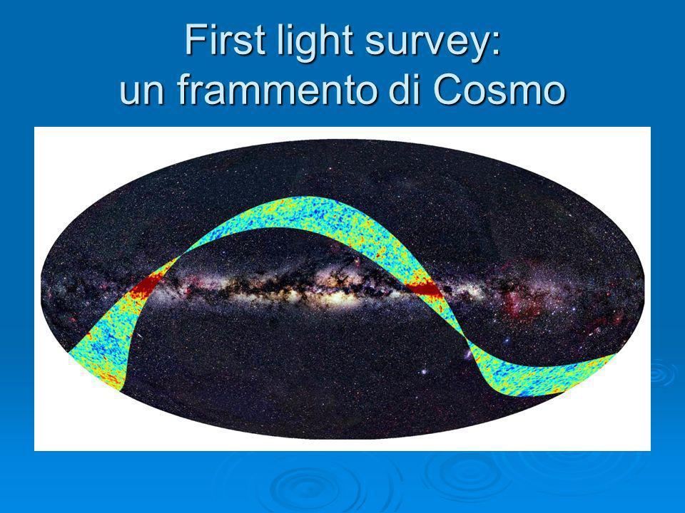 First light survey: un frammento di Cosmo