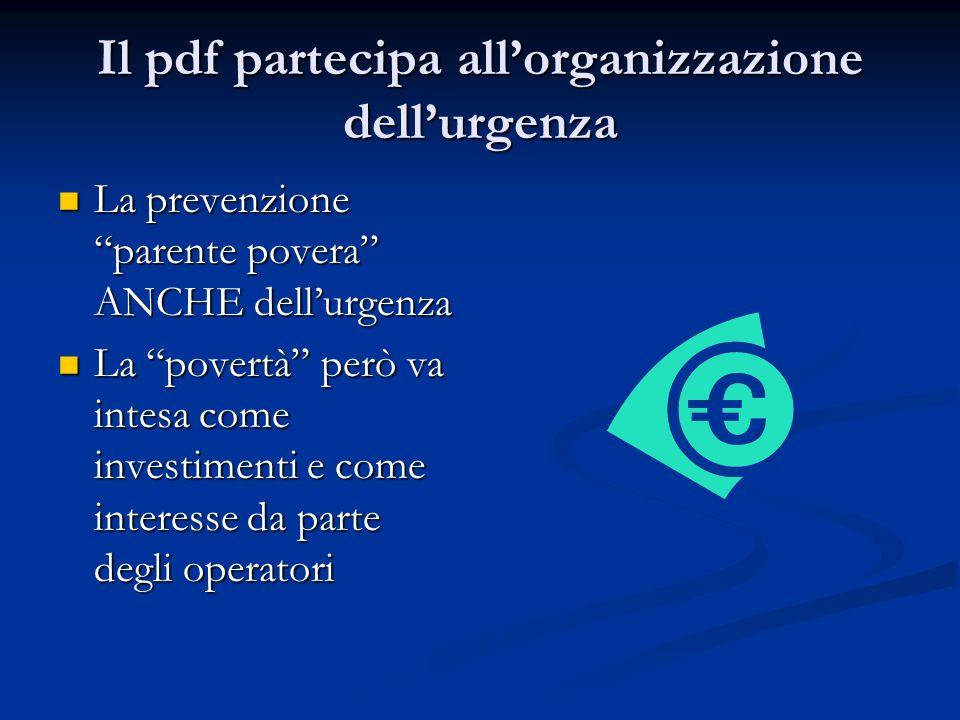 Il pdf partecipa allorganizzazione dellurgenza La prevenzione parente povera ANCHE dellurgenza La prevenzione parente povera ANCHE dellurgenza La povertà però va intesa come investimenti e come interesse da parte degli operatori La povertà però va intesa come investimenti e come interesse da parte degli operatori