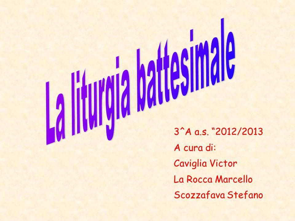 3^A a.s. 2012/2013 A cura di: Caviglia Victor La Rocca Marcello Scozzafava Stefano