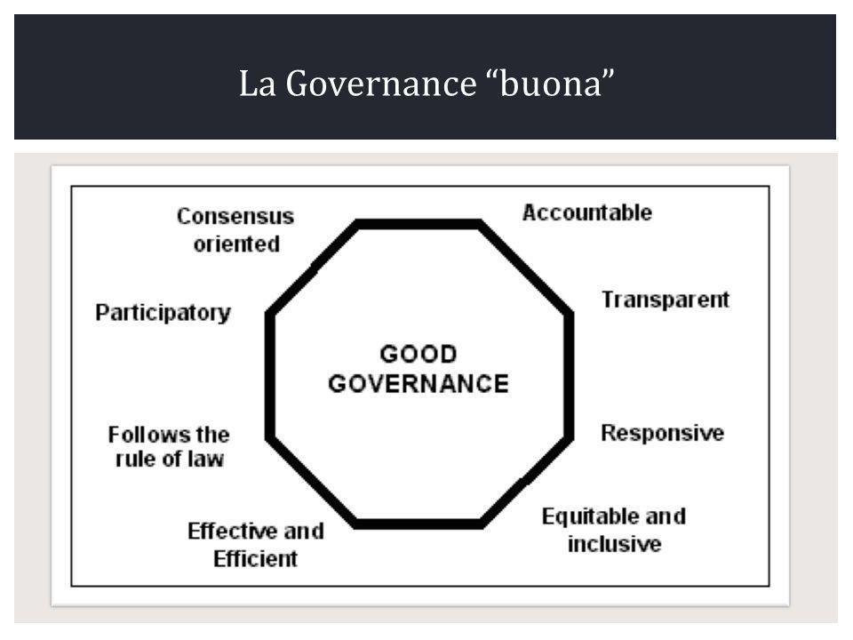 La Governance buona