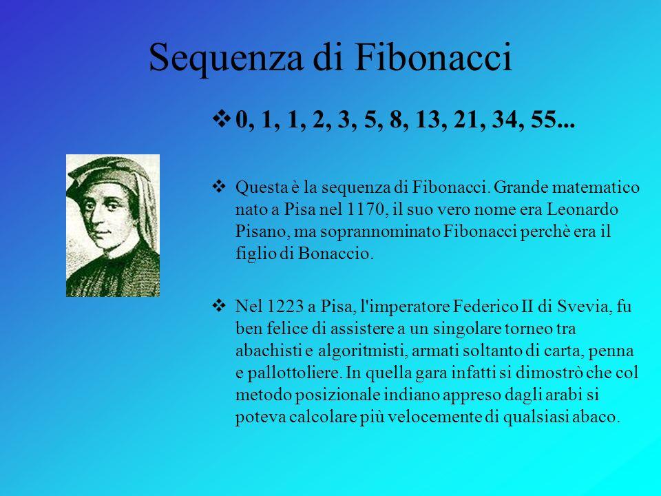 Fibonacci e il numero d'oro Michele Ferrari - Luca Servidati