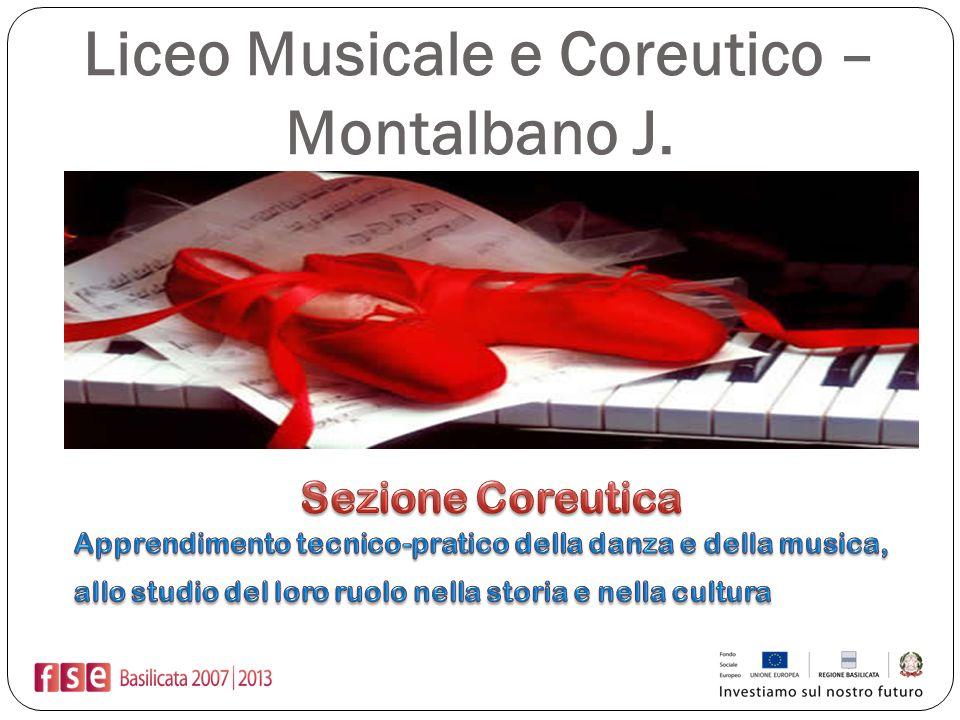 Liceo Musicale e Coreutico – Montalbano J.