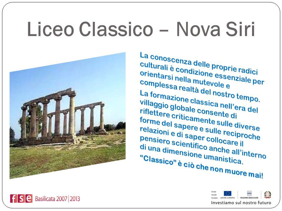 Liceo Classico – Nova Siri