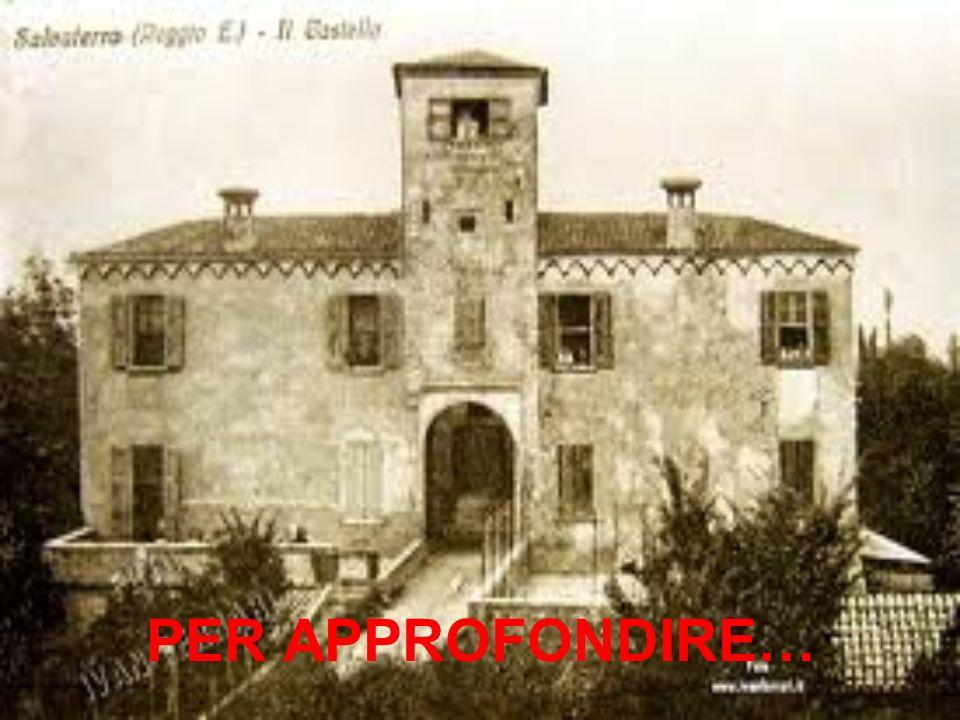 Il Castello di Salvaterra venne costruito prima del 1200.