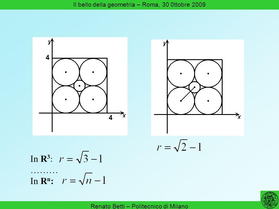 Renato Betti – Politecnico di Milano Il bello della geometria – Roma, 30 0ttobre 2009 Proprietà delle forme lincentro e il circocentro di un triangolo sono nozioni simili (= invarianti per similitudine)
