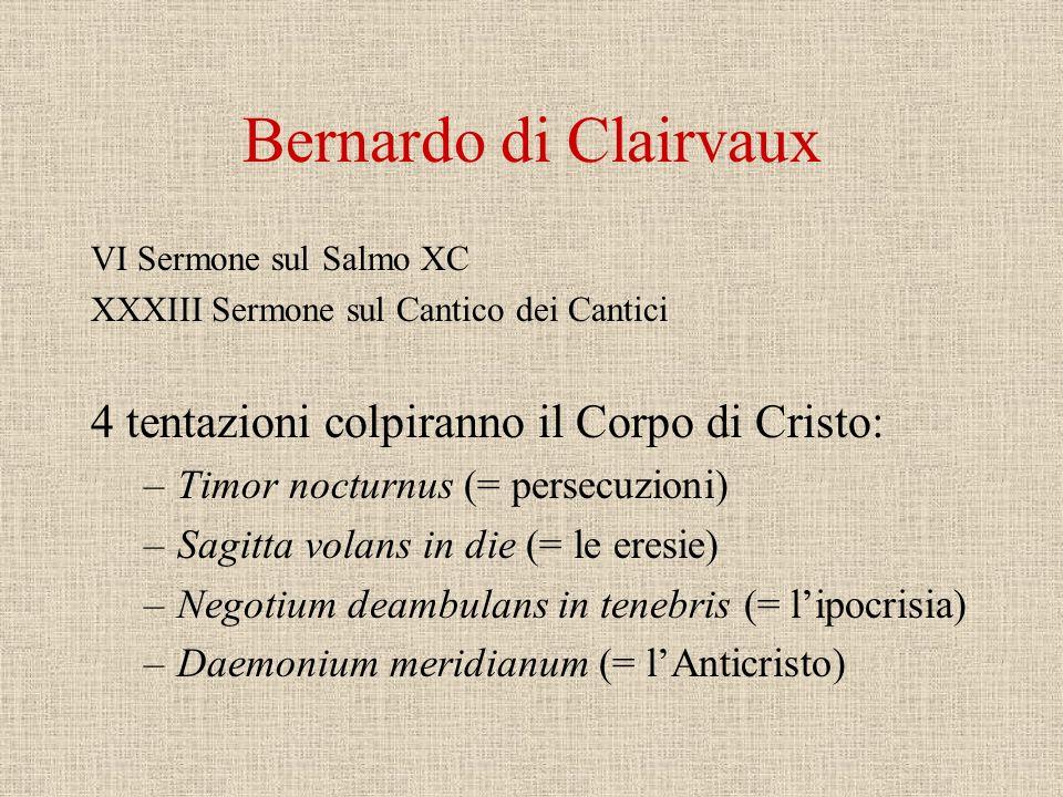 Bernardo di Morval Attorno al 1150, monaco poeta di Cluny, De contemptu mundi Hora novissima, tempora pessima sunt, vigilemus.