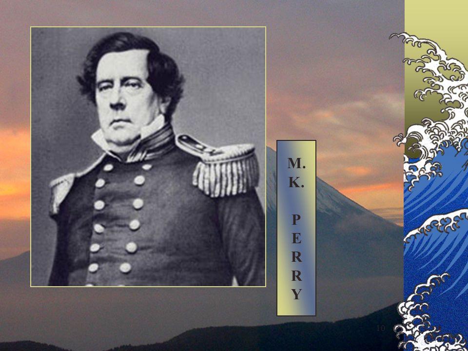 9 1853 Arrivo del commodoro M.K.