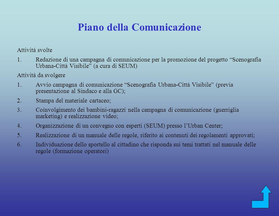 Quartieri della Giostra del Saracino Attività svolte: 1.Protocollo dintesa tra amministrazione comunle e Quartieri per Settiman del quartierista 2012:
