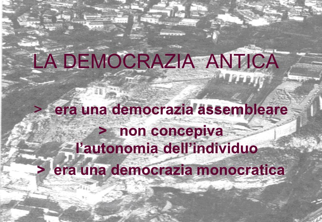 la democrazia non coincide con il principio di maggioranza la democrazia si fonda anche sul rispetto delle minoranze e del diverso il principio di maggioranza costituisce solo una tecnica del suo funzionamento