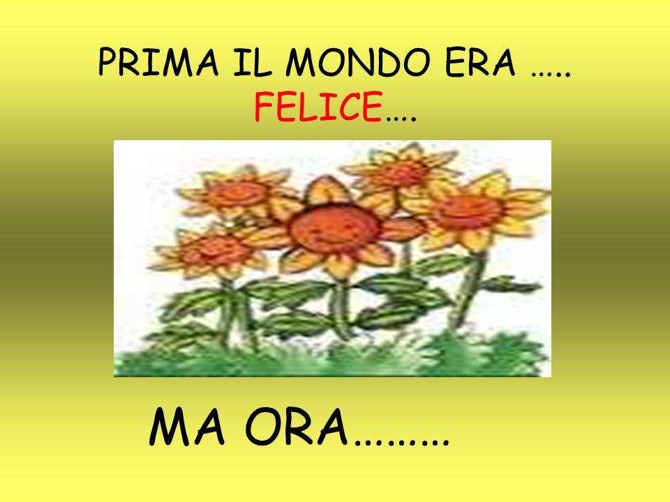 SALVIAMO IL MONDO O ALMENO CI PROVIAMO!!!