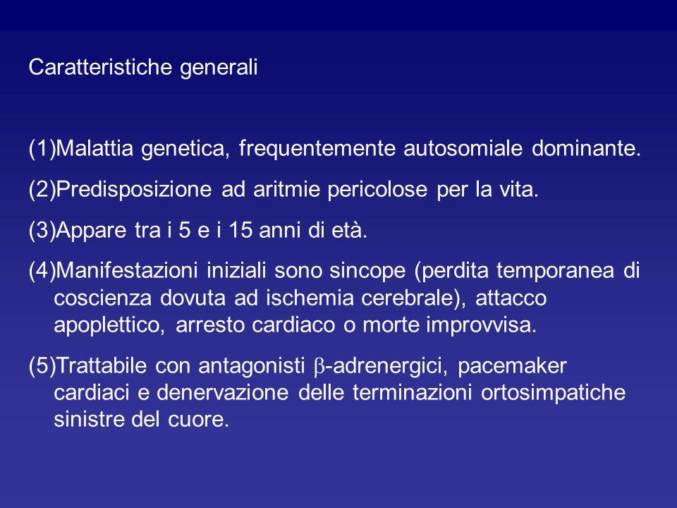 La sindrome denominata Long QT è una malattia definita da un prolungamento dellintervallo QT dellelettrocardiogramma. Lintervallo QT inizia con il com