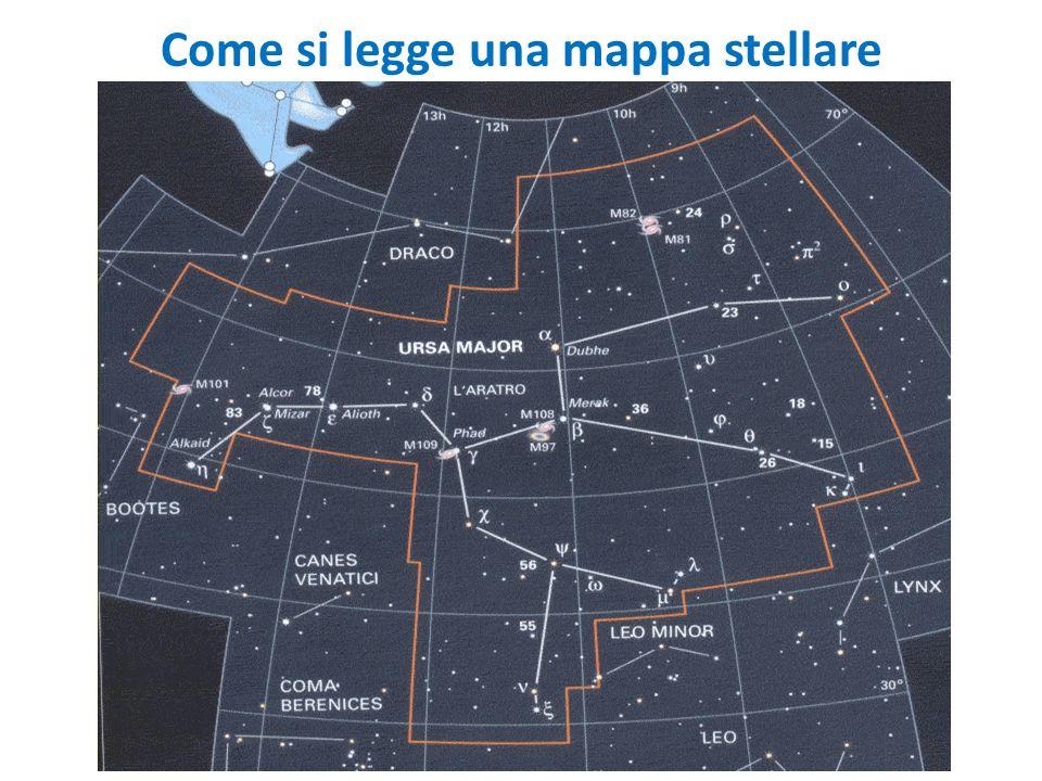 Come si legge una mappa stellare