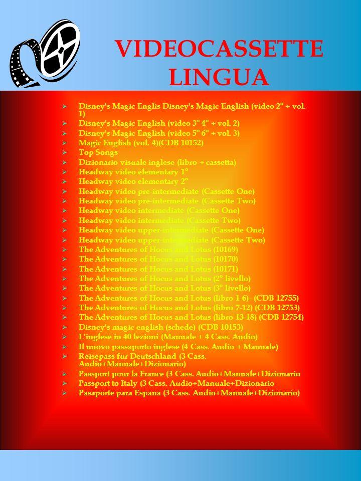 Disney's Magic Englis Disney's Magic English (video 2° + vol. 1) Disney's Magic English (video 3° 4° + vol. 2) Disney's Magic English (video 5° 6° + v