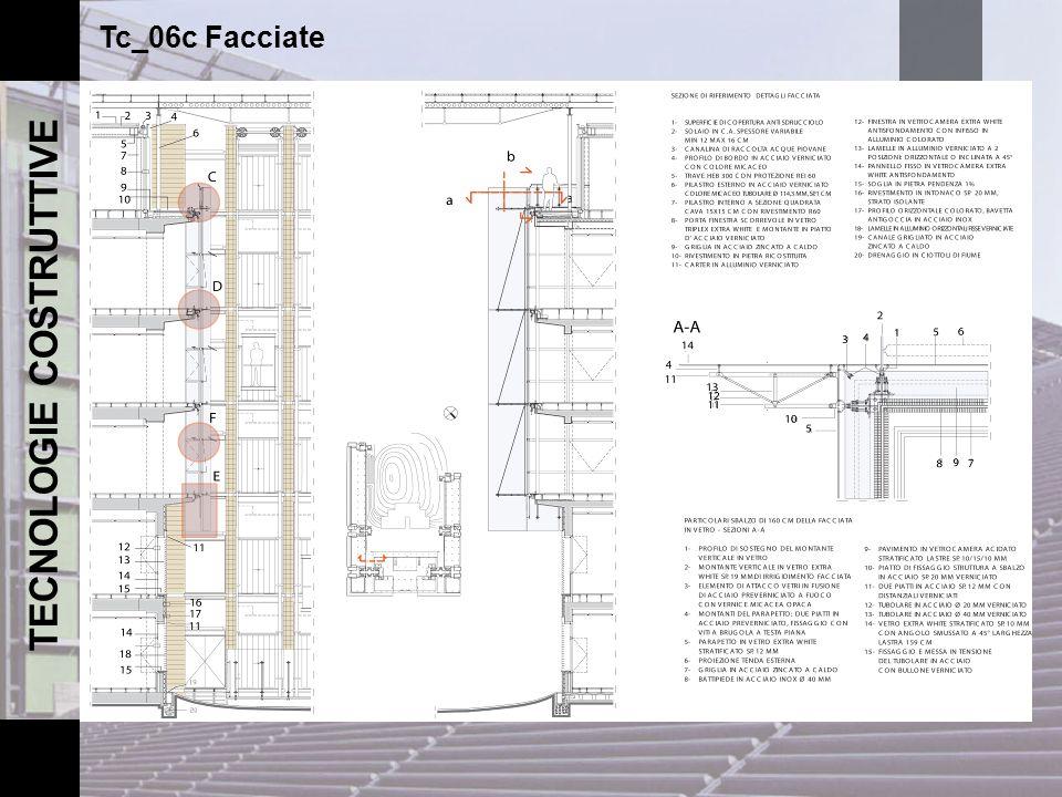 TECNOLOGIE COSTRUTTIVE Tc_06c Facciate Assemblaggio in officina