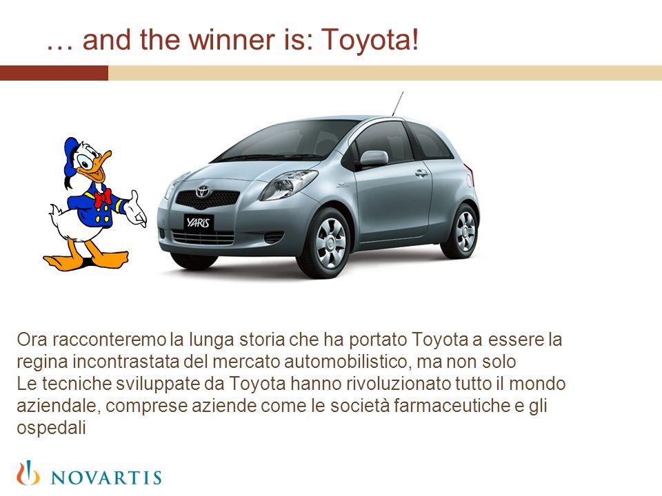 … and the winner is: Toyota! Ora racconteremo la lunga storia che ha portato Toyota a essere la regina incontrastata del mercato automobilistico, ma n