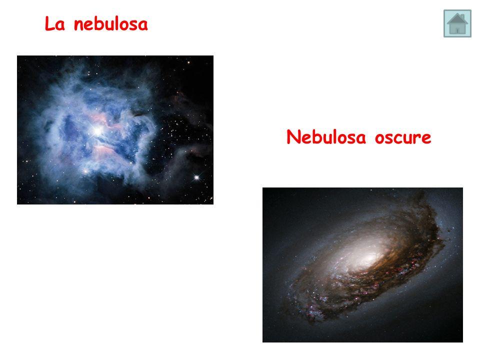 La nebulosa Nebulosa oscure