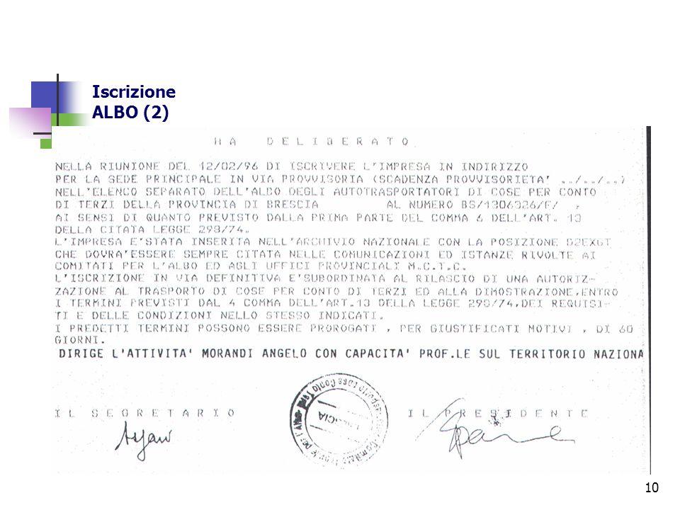 10 Iscrizione ALBO (2)