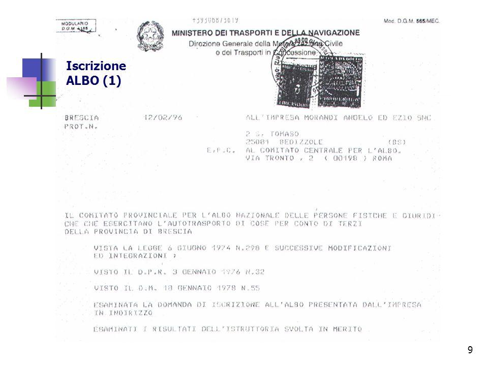 30 Fatturazione autotrasporto Art.83 – bis, legge 6.8.2008, n.